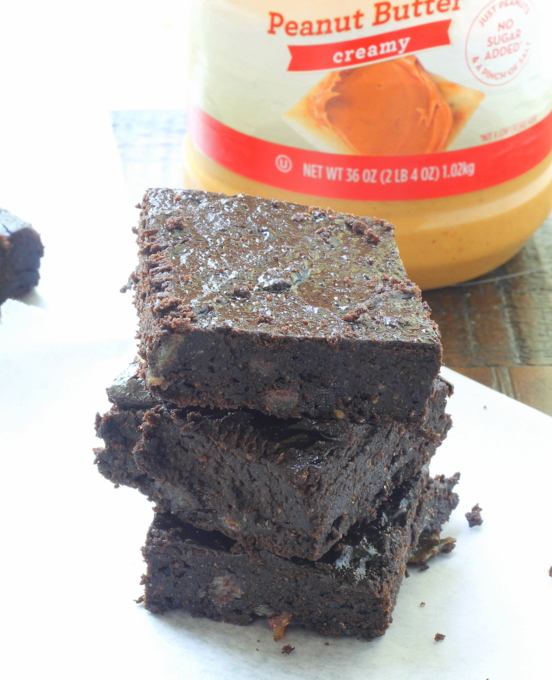 Chocolate Peanut Butter Brownies 2