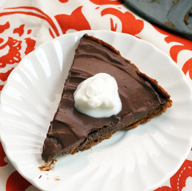 Pumpkin Chocolate Mousse Pie final