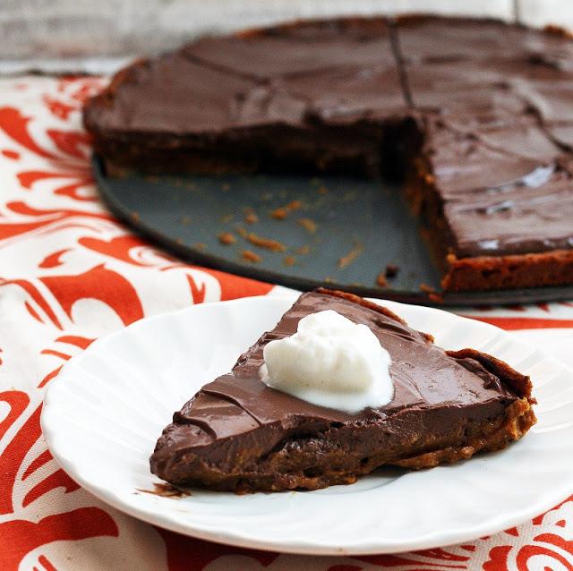 Pumpkin Chocolate Mousse Pie